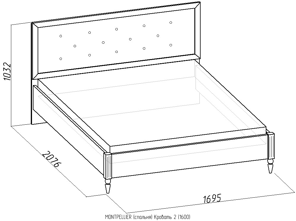 Кровати из дсп своими руками чертежи размеры 876